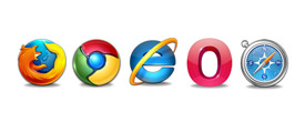Cross Browsers Compatible