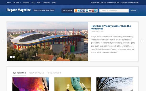 Elemag - Homepage