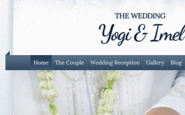 The Wedding - Blue