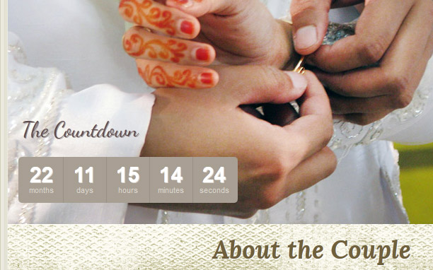 The Wedding - Countdown