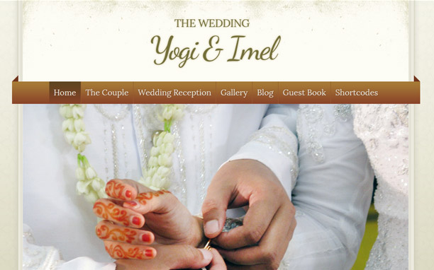 The Wedding - Homepage