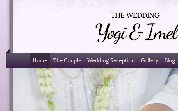 The Wedding - Purple
