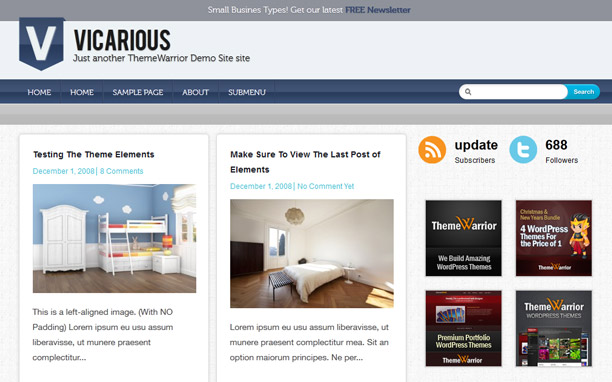 Vicarious - Homepage