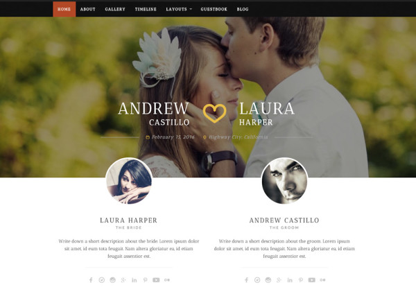 neeqah-wordpress-wedding-theme