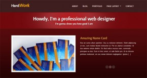 Introducing Our First Premium WordPress Theme: HardWork