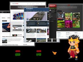 Christmas and New Years WordPress Theme Bundle