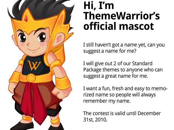 Meet Our Official Mascot