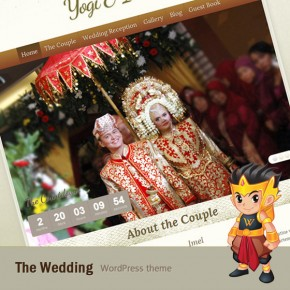 Preview: The Wedding WordPress Theme