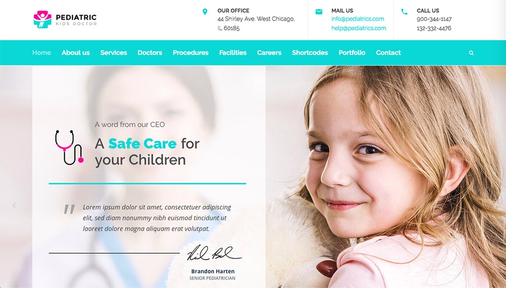 MediClinic WP Theme