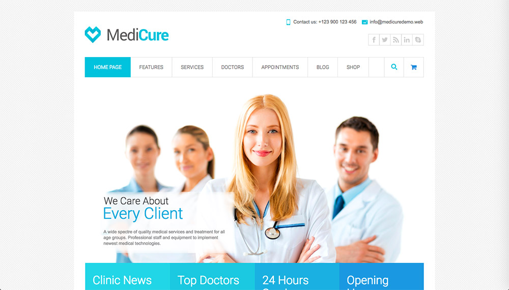 Best Health and Medical WordPress Themes for Doctors and Hospitals for 2018