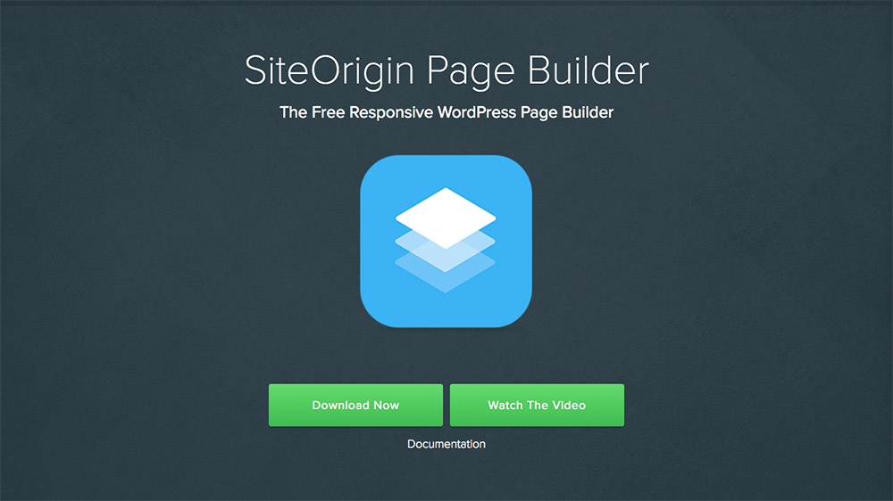 Site Origin Page Builder