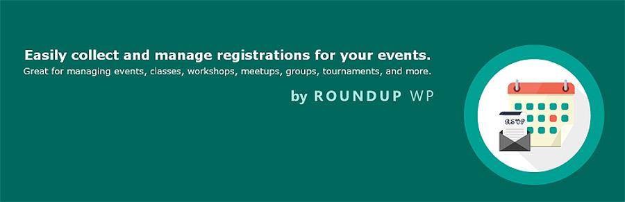 Registrations for The Events Calendar plugin