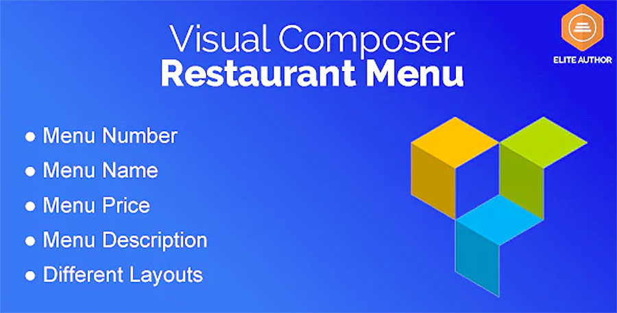 Restaurant Menu for Visual Composer plugin