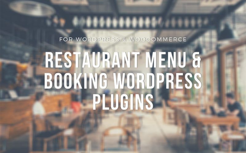 Best Restaurant Menu & Booking WordPress Plugins
