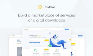 TaskHive – Freelance Services Marketplace WordPress Theme